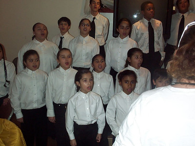 "Dec 2006 Chamber Choir at ""Glory to God"" Church"