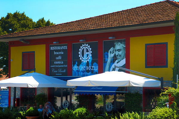 Explore Bocelli's Backyard--Visit His Family Vineyard in Tuscany and Record a Song in His Studio!
