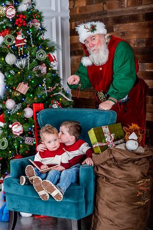 Cannon & Wheeler with Santa