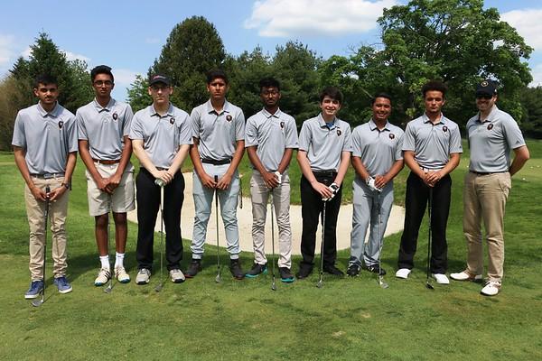 May 8, 2019 MTHS Golf Varsity, Team Pic, Seniors, Individual photos and warm up shots