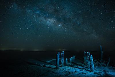 Night on Florida Bay