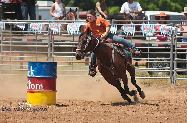 Rock Bottom Barrel Racing 2012