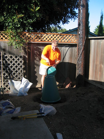 Installing the Green Cone Food Digester