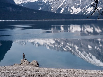 Upper Kananaskis Lake - June 1st