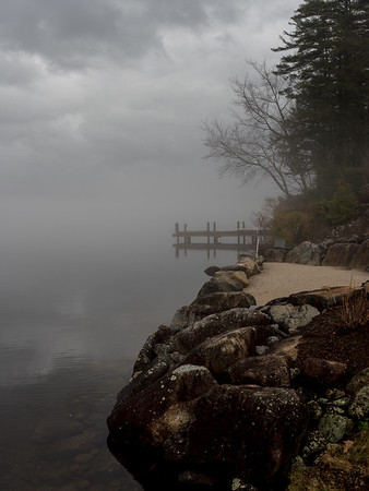 foggy day on the Lake 4-2019
