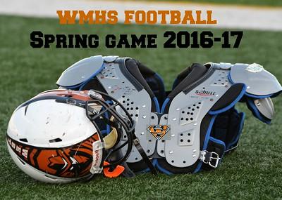 WMHS Football Spring Game 2017