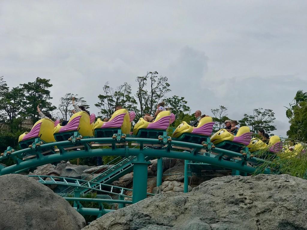 Flounder's Flying Fish Coaster.