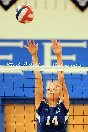 Lampeter-Strasburg Girl's JV/V Volleyball v. E-town 10.7.14