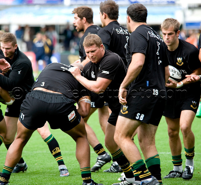 Northampton Saints vs Worcester Warriors, Guinness Premiership, Franklin's Gardens, 5 September 2009