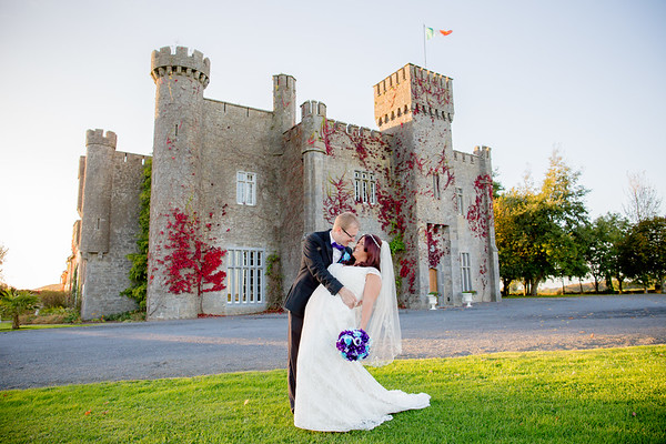Danielle & David at Lisheen Castle in Ireland