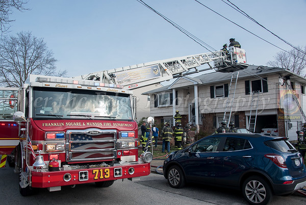 Franklin Square & Munson House Fire 04/08/2019