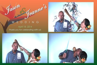 Jeanne & Jason's Wedding (Slow Motion Photo Booth)