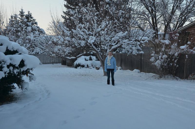Grandma Berry's backyard.