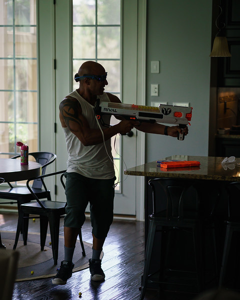 2018-09-02 London 1st Day of School - Nerf Battle-3299.jpg