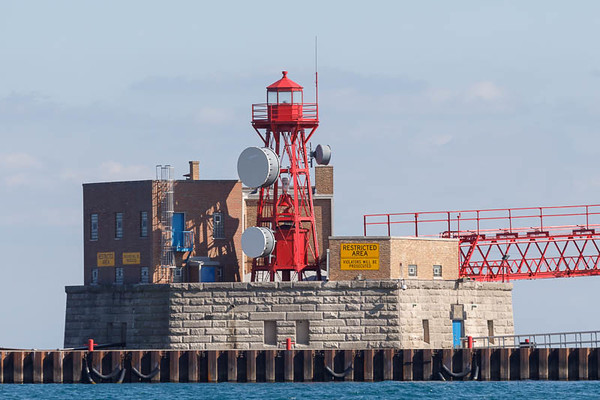 68th st Crib and lighthouse