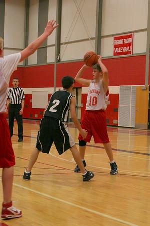 Middle School Boys Basketball 8A - 2009-2010 - 12/7/2009 Newaygo