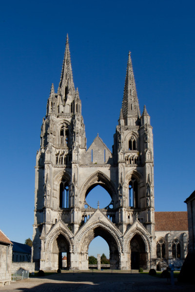 Soissons, Saint-Jean-des-Vignes Abbey West Facade