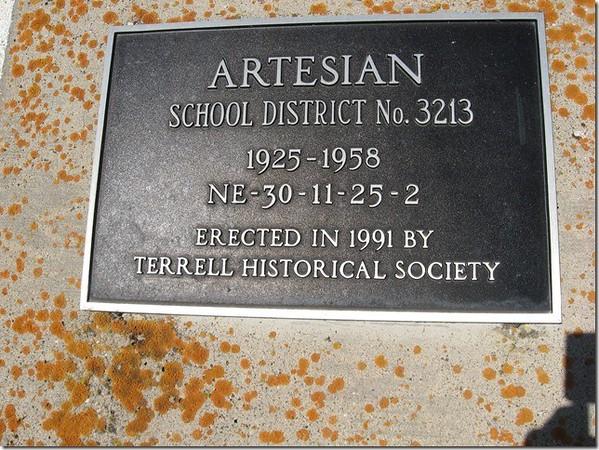 Artesian School District No.3213
