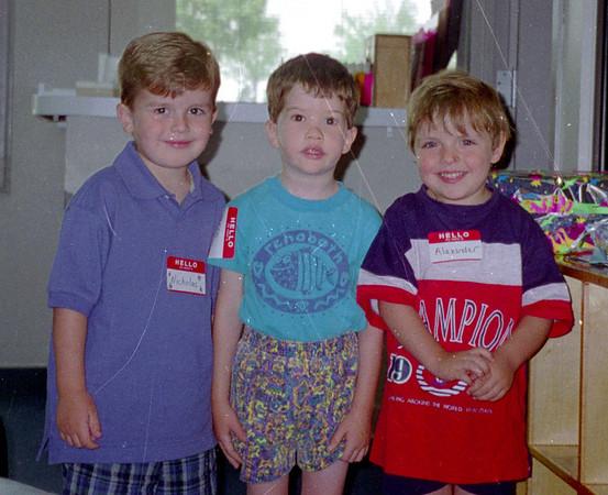 Nicholas birthday 1995