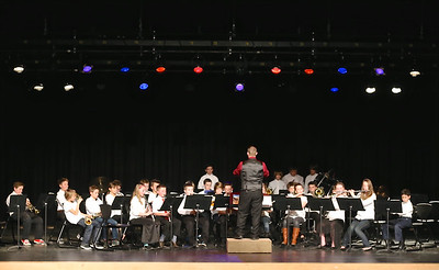 SMS Band & Choir Spring Concert 2015