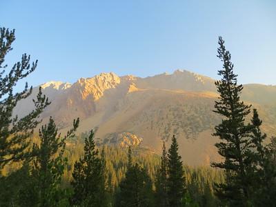 Mount Lamarck, August 3, 2013