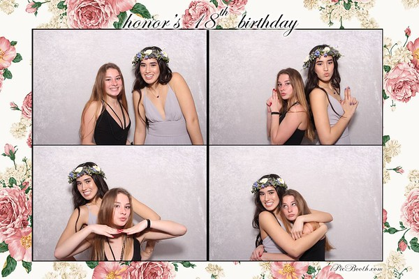 Honor's 18th Birthday
