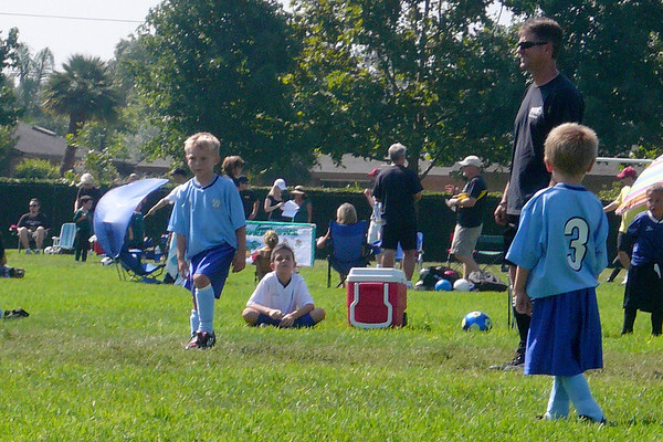 Logan Starts Soccer - Photos by Amber