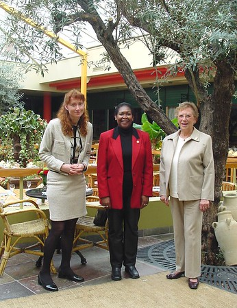 2002-0317 HH bestuursvergadering in Leeuwenhorst