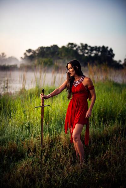 Nicole Warrior Shoot