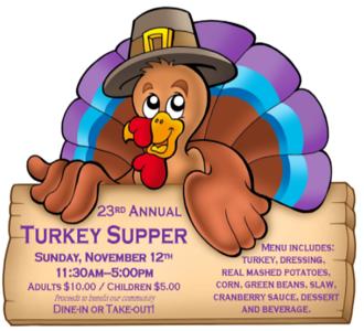 23rd Annual Turkey Supper
