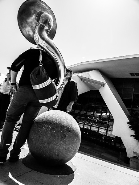 Sousaphone In The Sun