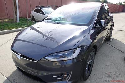 2017 Tesla Model X - Midnight Silver Metallic