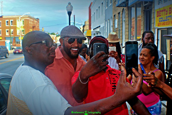 #DearBaltimore - Ray Lewis at #PennNorth