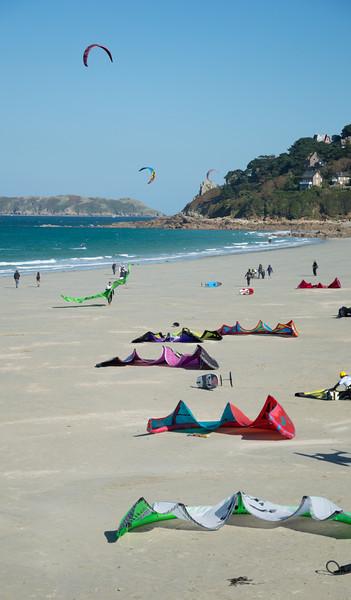 Kite Surfing in Perros-Guirec