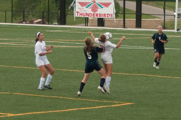 2011 SHHS JV Ladies Soccer vs St. James