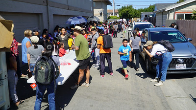Farmworker's Back Pack Distribution