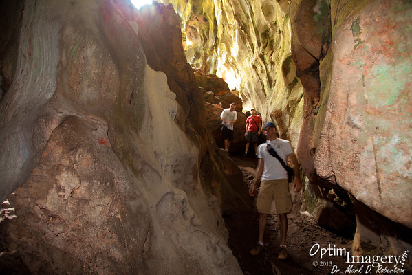MARCH 11, 2013:  KALABERA CAVE AND SPOTLIGHT CAVE HIKE