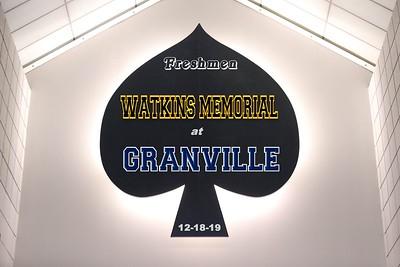 2019 FRESHMEN - Watkins Memorial at Granville (12018-19)
