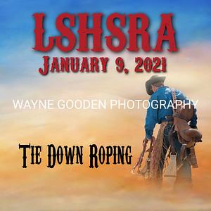 LSHSRA Tie Down Roping Jan 2021