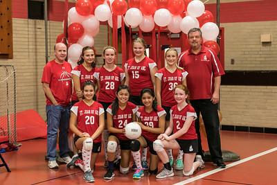 SJA 8th-Grade Girls B Volleyball