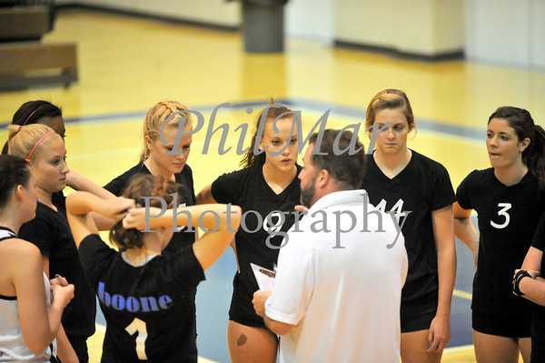 Schuylkill Valley VS Daniel Boone Girls High School Volleyball 2010 - 2011