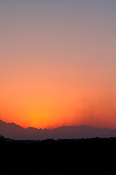 Sundown at White Sands - 2013