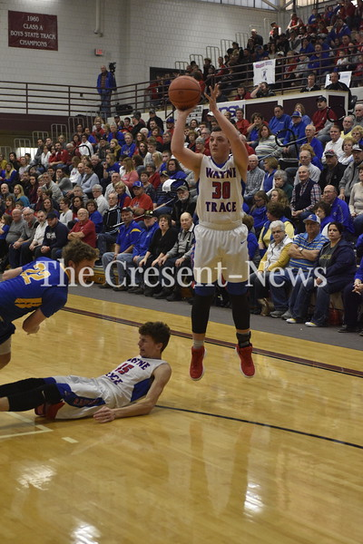 03-02-18 Sports Wayne Trace vs Lincolnview BBK at Paulding