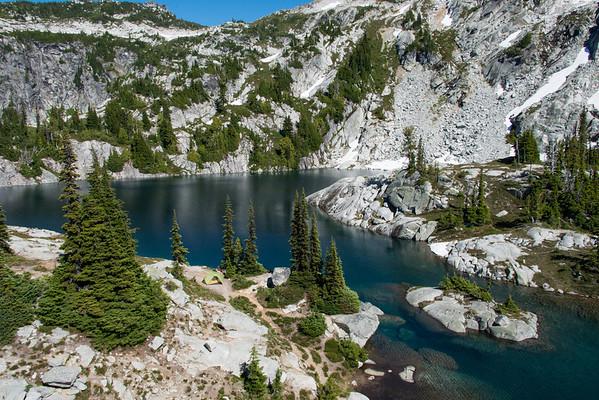 Tuck and Robin Lakes