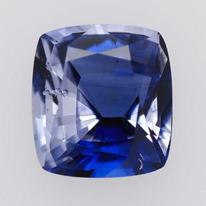2.94 Sri Lanka Sapp cush Zoned Blue and violet Unheated (S1381)