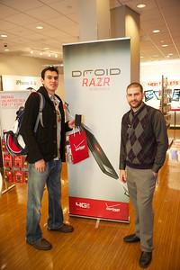 Verizon RAZR Launch