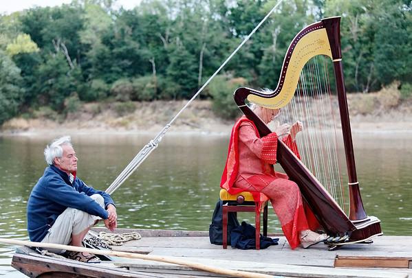 Navigation au son de la harpe
