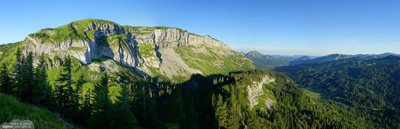 Gatterkopf hiking, Kleinwalsertal