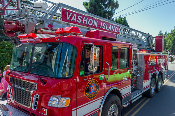 Set one the Grand Parade, Vashon Island Strawberry Festival 2019
