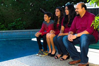 Shanthi Adloori Family